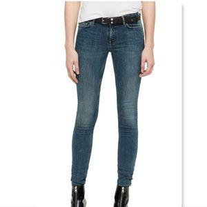 Allsaints Spitalfields Mast Skinny Jeans size 25